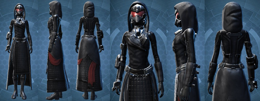 swtor how to get revan armor set