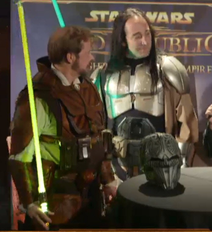swtor nycc cosplay contest and cantina livestream coverage