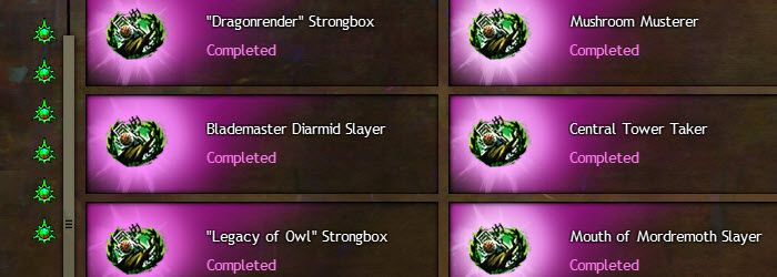 GW2 Dragon's Stand Hero Points and Strongboxes Guide