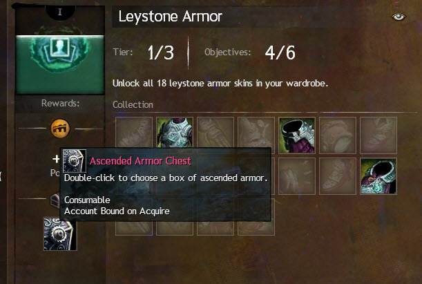 how to get all of leystone armour