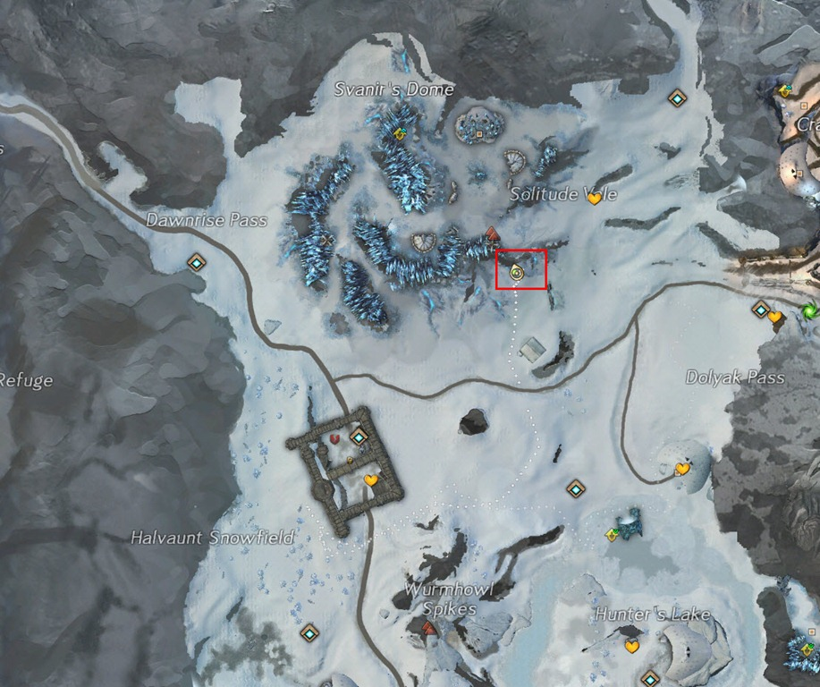 how to get to map without contested waypoints gw2