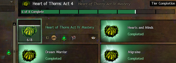 GW2 Heart of Thorns Act 4 Story Achievements Guide