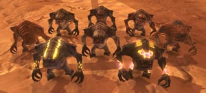 SWTOR Juvenile Rancor pets from Cartel Coin cards