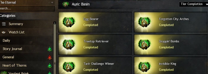 GW2 Auric Basin Achievements Guide
