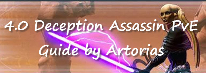 SWTOR 4.0 Deception Assassin PvE Guide by Artorias