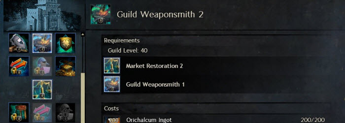 GW2 HoT Guild Armor and Weapons Guide