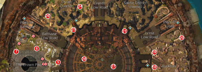GW2 Donation Drive Orphan Locations Guide