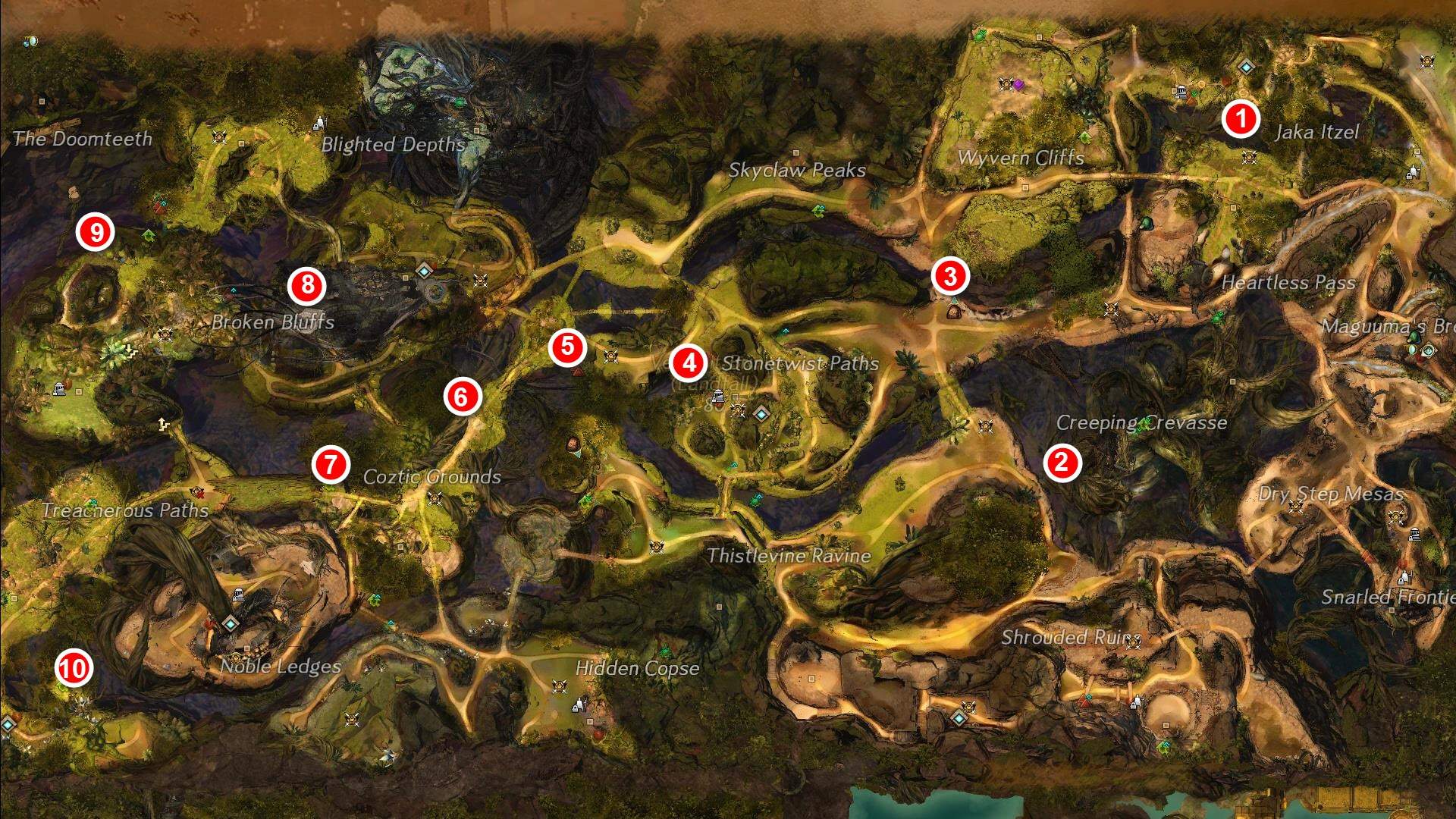 gw2-jungle-totem-hunter-achievement-map