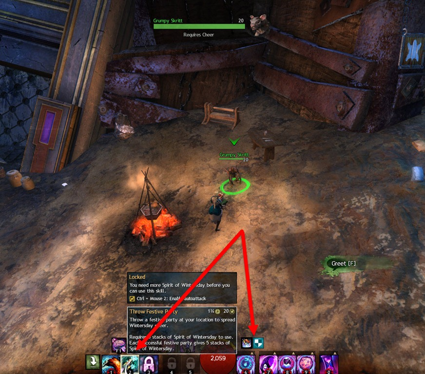 GW2 Ugly Wool Glider Skin Quest Guide - Dulfy