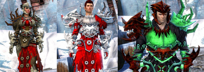 GW2 Gemstore Update–Slayer's Outfit and Winter Chime Dyes