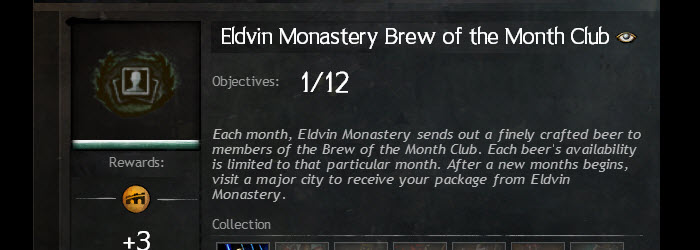 GW2 Eldvin Monastery Brew of the Month Club Guide