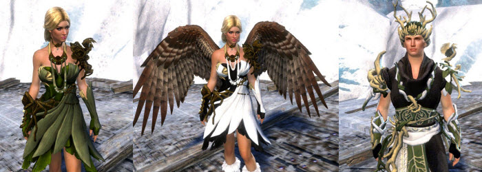 GW2 Gemstore Update–Hawk Wings and Nature's Oath Outfit