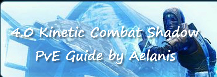 SWTOR 4.0 Kinetic Combat Shadow PvE Guide by Aelanis