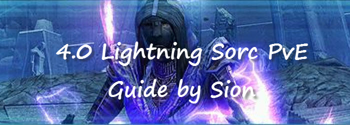 SWTOR 4.0 Lightning Sorcerer PvE Guide by Sion