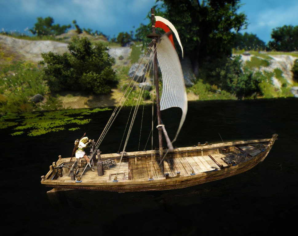 Black desert fishing boat construction guide dulfy for How to ship fish