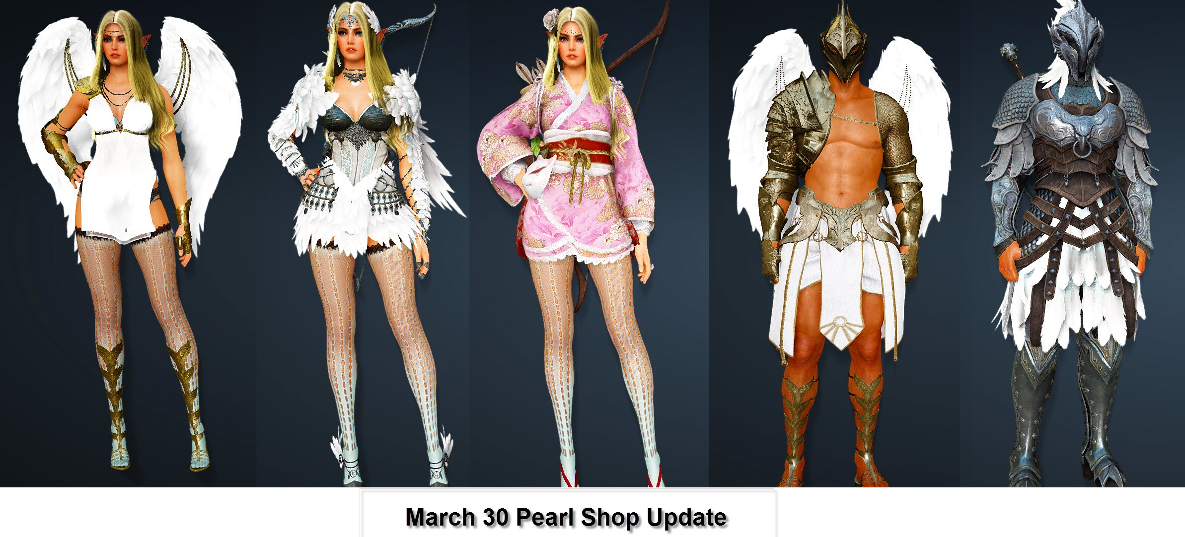 Black Desert March 30 Pearl Store Update - Dulfy