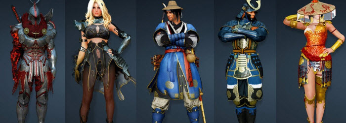 Black Desert March 31 New Korean Costumes