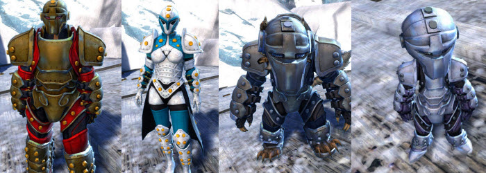 GW2 Ironclad Outfit and Glider Gallery