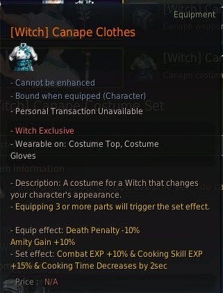 Black desert may 18 pearl shop update dulfy for Canape outfit bdo