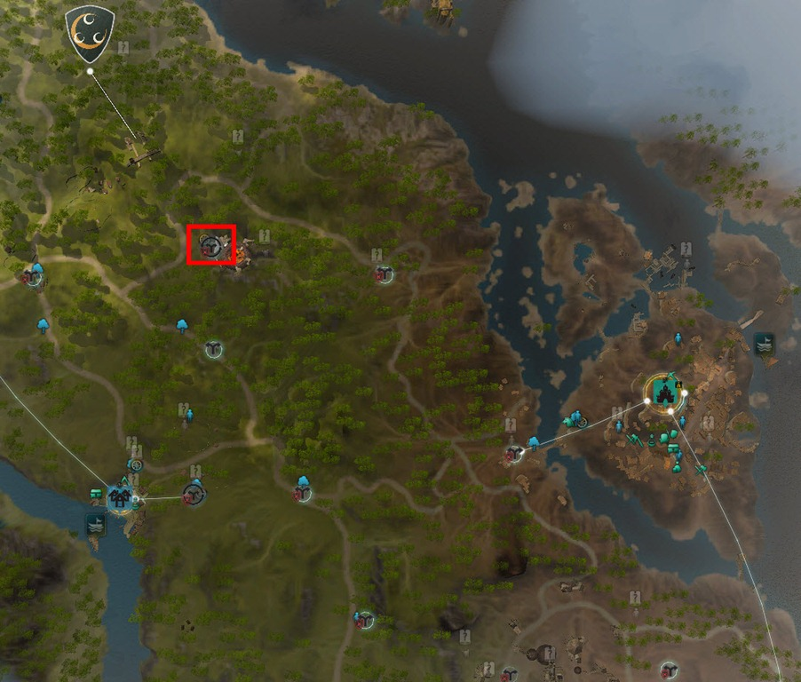 bdo how to connect glutoni cave