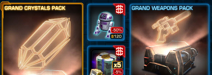 SWTOR CM Weekly Sales May 24 – 31