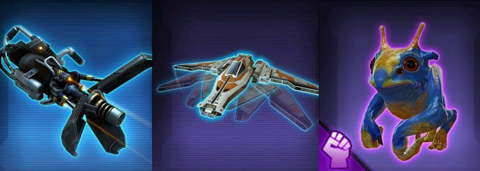 SWTOR Upcoming Items from Patch 4.4