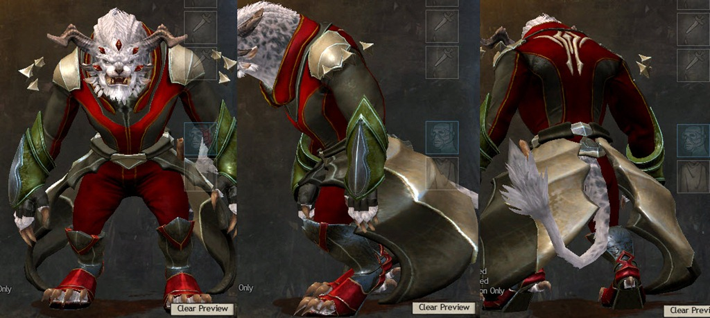 gw2 how to change armor attribute
