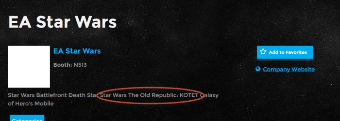 SWTOR Next Expansion Could be Named KOTET