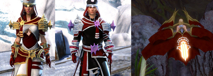 GW2 White Mantle Outfit, Glider and Focused Solar Logging Tool