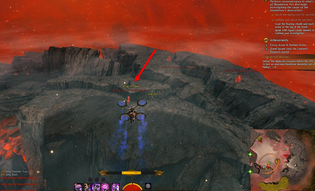 gw2 how to get to bloodstone fen