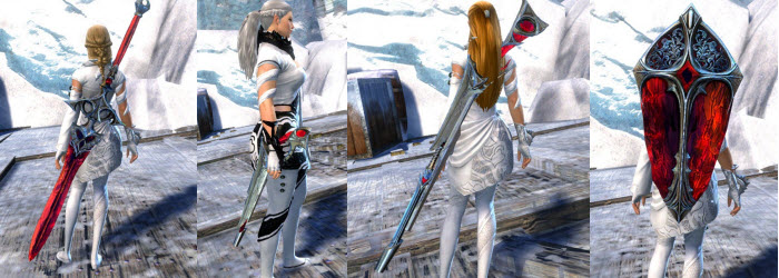 GW2 Bloodstone Weapons Skins Gallery