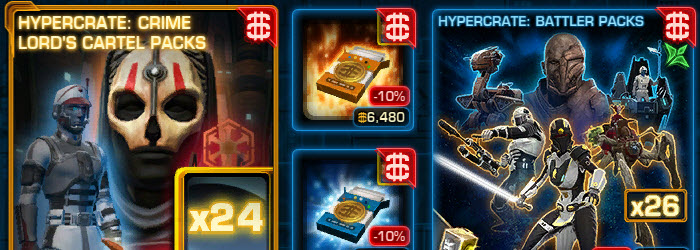 SWTOR CM Weekly Sales August 16 – 23