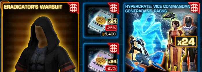 SWTOR CM Weekly Sales August 30 – September 6
