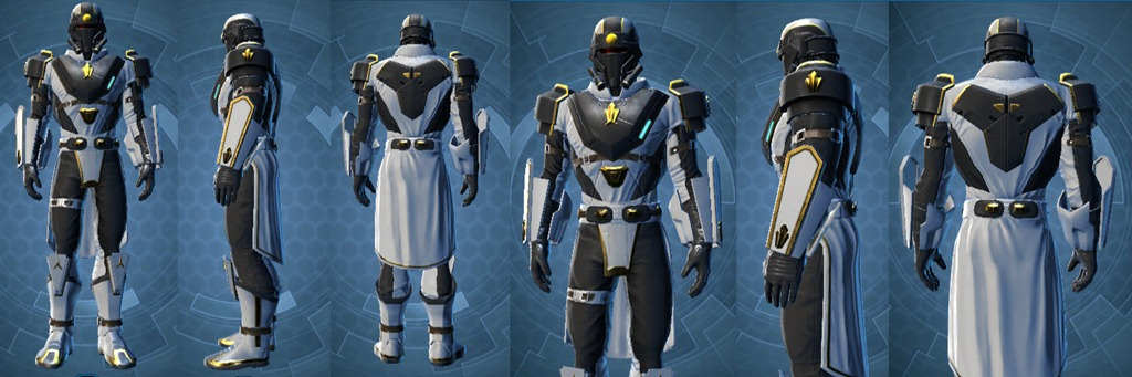 Ruthless Scion male armor