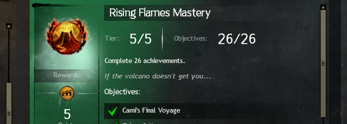 GW2 Rising Flames Achievement Guide