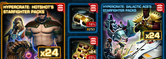 SWTOR CM Weekly Sales September 20 – 27