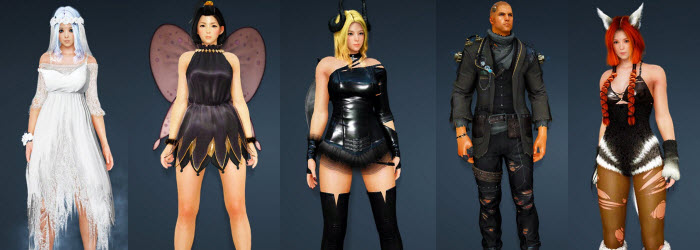 Black Desert New Halloween Costumes from Korea