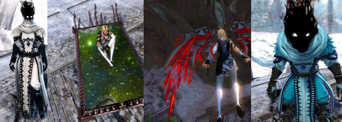 GW2 Gemstore Update–Hovering Mirror, Ghostly Outfit, Bloodstone Glider
