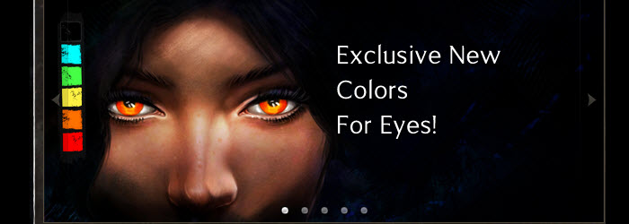 GW2 New Eye Colors in the Total Makeover Kit