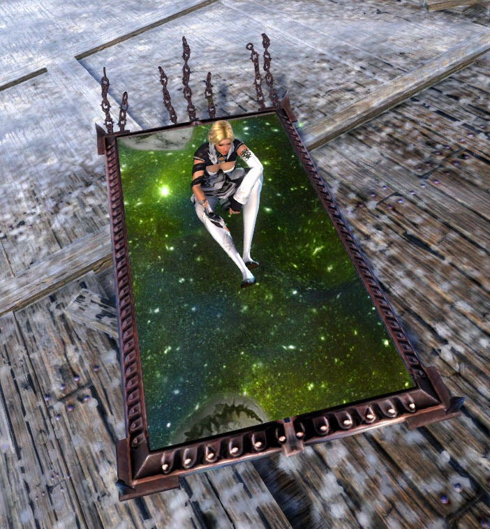 GW2 Gemstore Update–Hovering Mirror, Ghostly Outfit