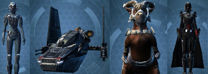 SWTOR Oppressor Alliance Pack Preview