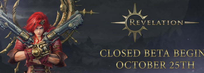 Revelation Online Closed Beta Starts October 25
