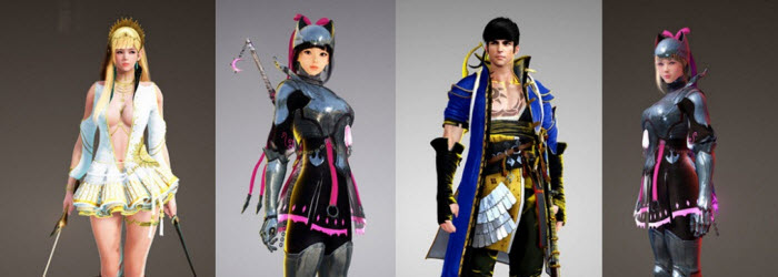 Black Desert Nov 23 New Korean Costumes