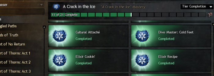 GW2 A Crack in the Ice Achievements Guide