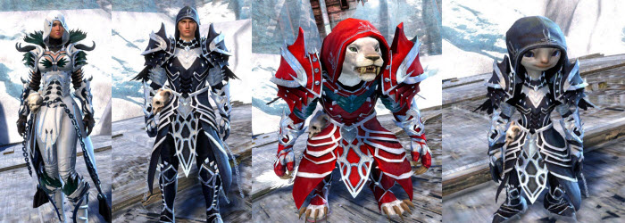 GW2 Marjory's Shrouded Outfit Now Available in Gemstore