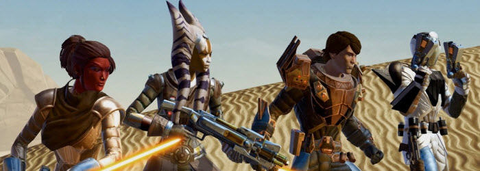 SWTOR Uprising Gameplay and Endgame Armor