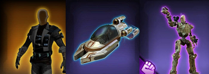 SWTOR Upcoming Items from Patch 5.0 V2