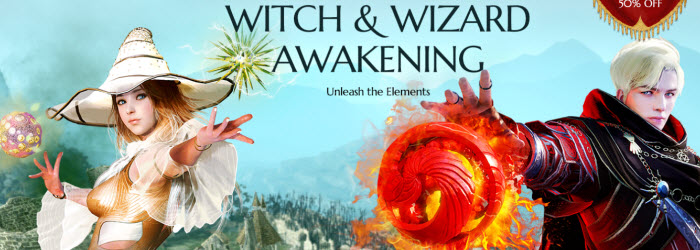 Black Desert Witch and Wizard Awakening Now Available