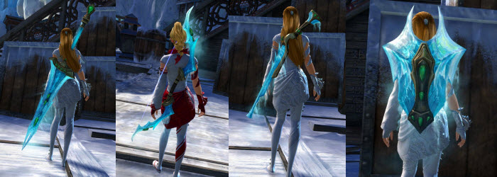 GW2 Frostforged Weapon Skins Gallery