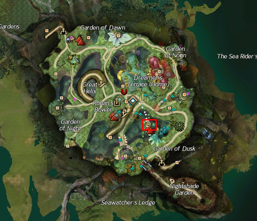 how to get to the black citadel gw2